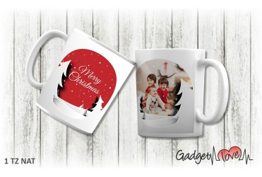 Tazza Natale classica - Merry Christmas