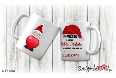 Tazza Natale classica - Babbo Natale