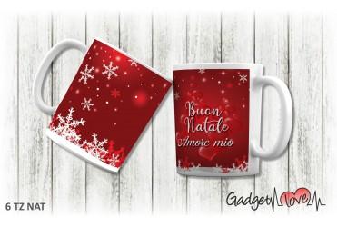 Tazza Natale classica - Buon Natale Amore mio