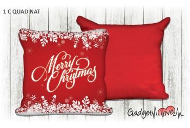 Cuscino Natale quadrato 40x40 -  Merry Christmas