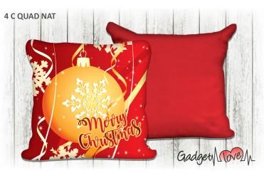 Cuscino Natale quadrato 40x40 -  Palla di Natale