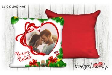 Cuscino Natale quadrato 40x40 -  Heart