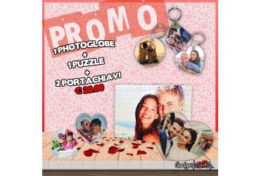 Puzzle + Photoglobe + Portachiavi
