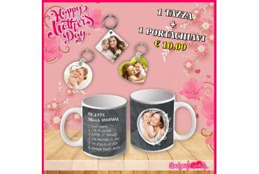 Festa della Mamma - Tazza + Portachiavi