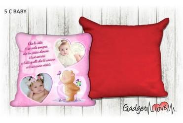Cuscino Baby quadrato 40x40 - Orsetto