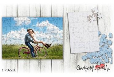 Puzzle cartone rettangolare personalizzato