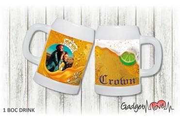 Boccale birra drink - Crown
