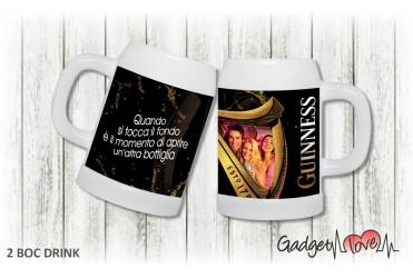 Boccale birra dedica - Guinness
