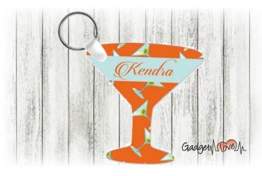 Portachiavi bicchiere martini personalizzato