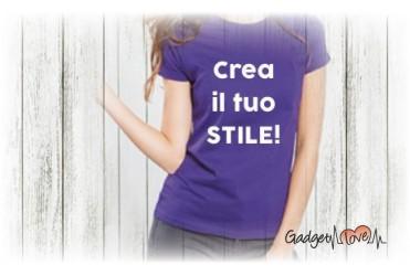 T-Shirt donna mezza manica personalizzata