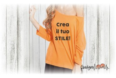 T-shirt donna manica a 3/4 personalizzata
