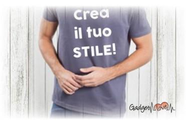 T-Shirt uomo mezza manica personalizzata