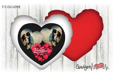 Cuscino cuore 40x40 Happy valentine's day