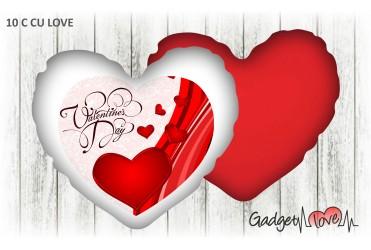 Cuscino cuore 40x40 Valentine's Day