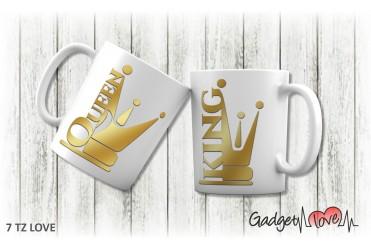Tazza classica Queen & King 2