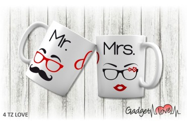 Tazza classica Mr e Mrs